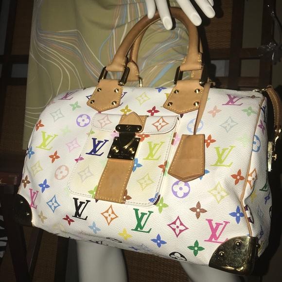 8beedf491aea Louis Vuitton Handbags - Louis Vuitton Murakami Speedy 30 Multicolor Bag